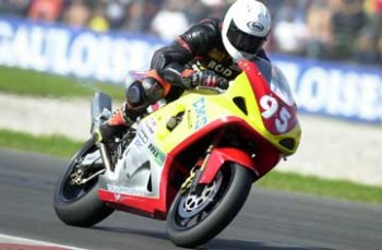 European Superstock Win Assen 2002 on the EMS Suzuki