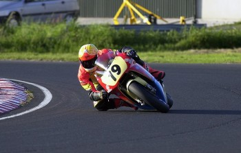 500cc V-twin Honda Kirkistown